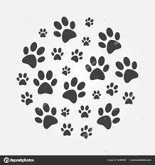 Resultado De Imagen Para Imágenes De Huellas De Perro Cat Footprint Illustration Footprint