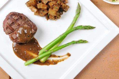 @Hassan Al Hassany hassan How would you like your Lunch @ La gourmandise Craving a yummy beef filet veg & potatoes?