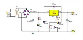 Adjustable Power Supply 1 2 30v 5a Using Lm338 With Images