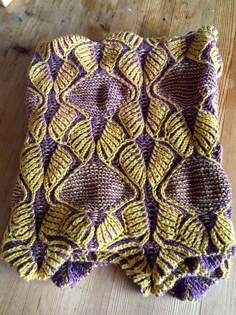 Ravelry Art Deco By Nancy Marchant Brioche Knitting Patterns Scarf Knitting Patterns Knitting Patterns