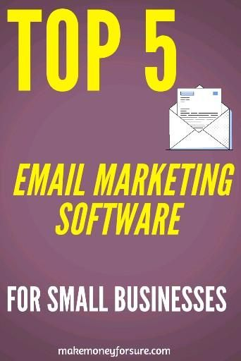 Top 5 Email Marketing Software For Small Businesses