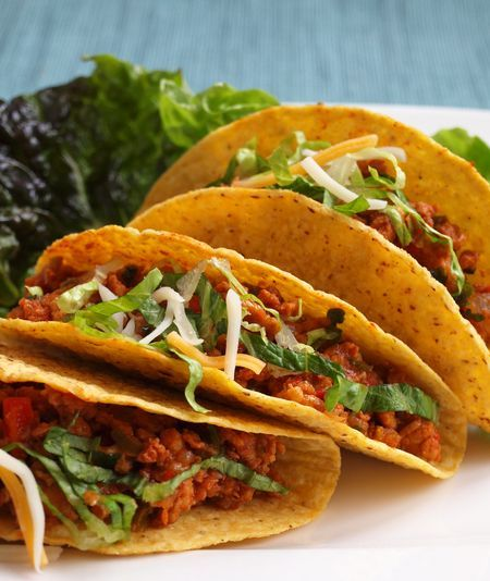 Chicken Tacos - sounds way better than the powdered mix at the grocery store
