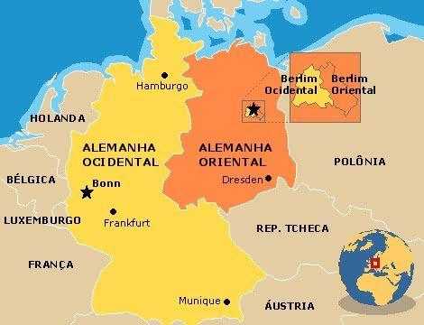 Mapa Da Alemanha Conheca Todas As Regioes Da Alemanha Alemanha
