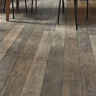 Mannington Restoration Wide Plank 8 X 51 X 12mm Hickory Laminate Flooring In Stone Wayfair Oak Laminate Flooring Oak Laminate Wood Floors Wide Plank
