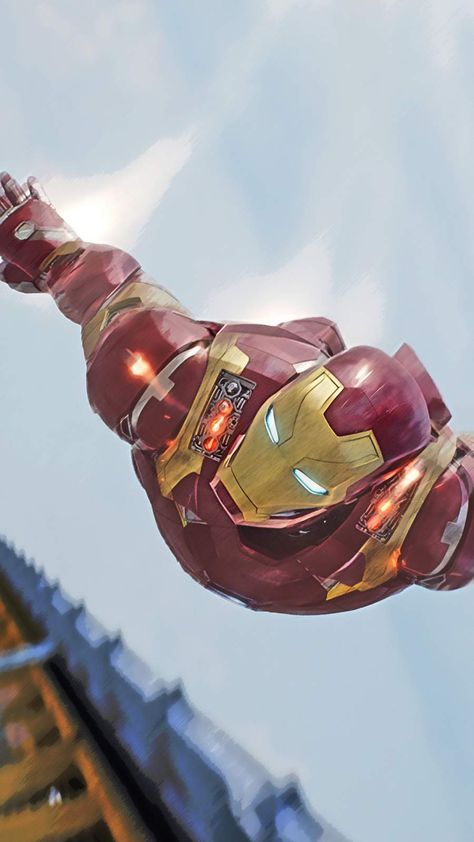 Iron Man Fly IPhone Wallpaper - IPhone Wallpapers