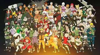 All Main Naruto Characters