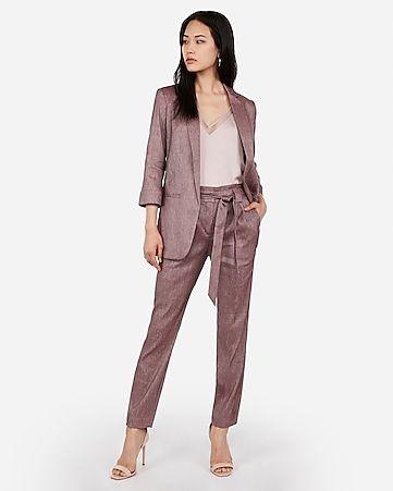 Dress Ankle Pant Suit