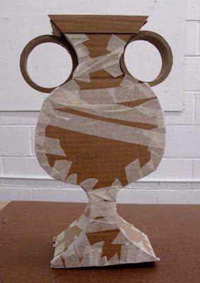 Diy Greek vase