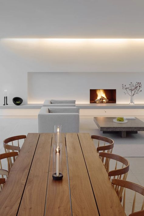 Palmgren House : John Pawson – Ode to Things House Rooms, Minimalism Interior, Home Interior Design, House Design, Interior, Interior Architecture Design, House Designs Exterior, House Interior, Home Deco