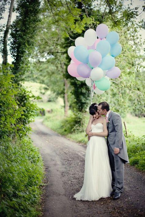Cute Wedding Photography ♥ Land-Hochzeits-Foto Idea