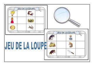 Chez Maicresse Karine Jeu De La Loupe Gs Loup J Aime