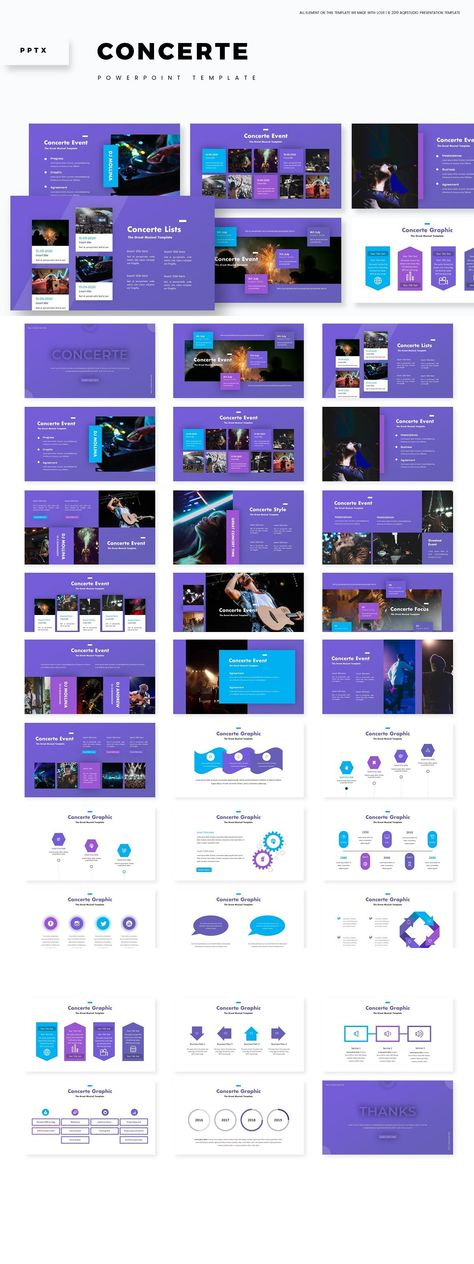 Concerte - Powerpoint Template
