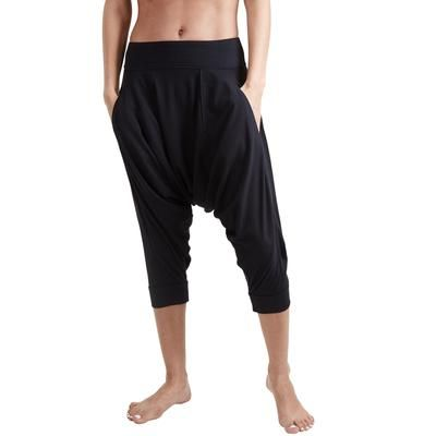 Yoga Dhoti Pants Vira India Ink Black Dhoti Pants Organic Clothing Women Yoga Pants Women