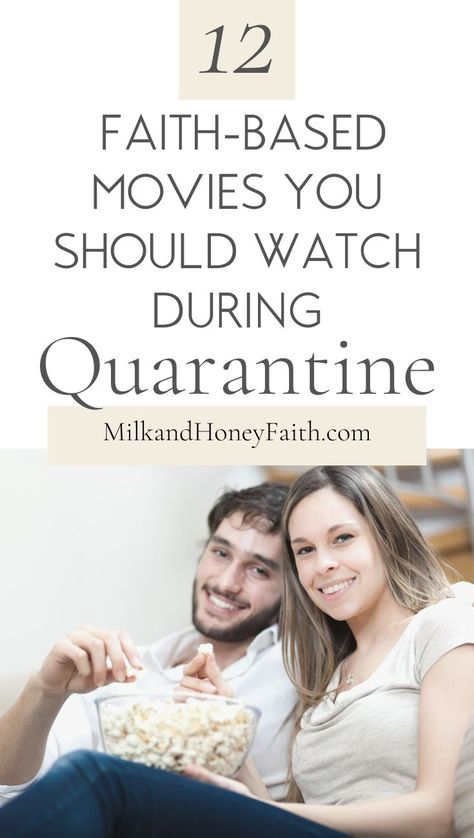 12 Faith-Based Movies You Should Watch During Quarantine
