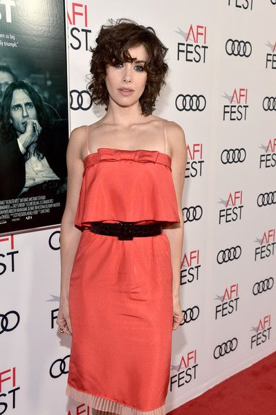 Alison Brie attends a screening of 'The Disaster Artist' at AFI FEST 2017.