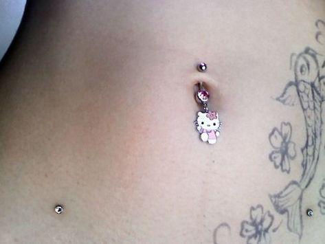 Bijoux Piercing Septum, Belly Button Piercing Jewelry, Piercing Tattoo, Piercings Ideas, Cool Piercings, Belly Piercings, Cute Jewelry, Body Jewelry, Et Tattoo