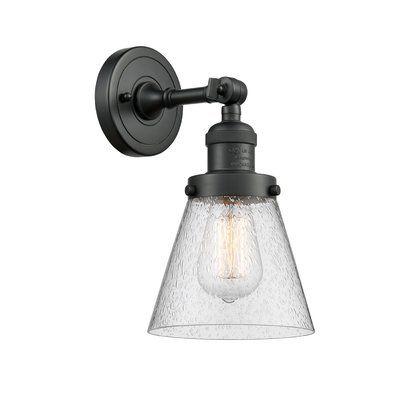Breakwater Bay Gaudet Fixture 1 Light Vanity Light Finish Matte Black Shade Colour Smoked Bulb Type Led In 2020 Vanity Lighting Vintage Led Bulbs Vanity Light Shade