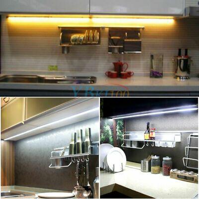 21 99 4pcs Bar Kit Kitchen Night Light Under Cabinet Counter Led Light Warm White Us Led Under Cabinet Lighting Night Light Led Lights