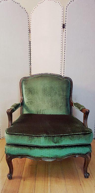Green Chair Louis Style Chair Green Chair Chair