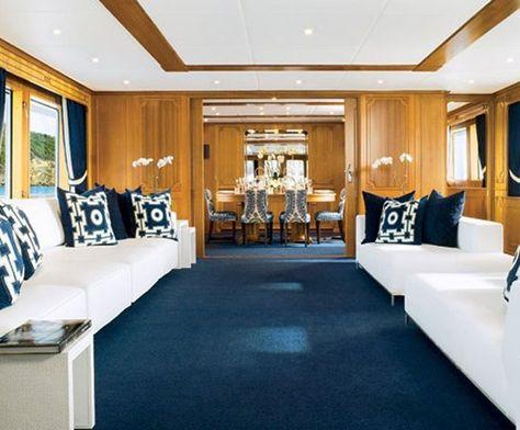 luxuriose innenausstattung yacht vive la vie, list of pinterest yachts interior classic pictures & pinterest, Design ideen