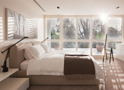 Craftwood Mdf Shutters Shutter Master London With Images Contemporary Bedroom Home Bedroom Bedroom Interior