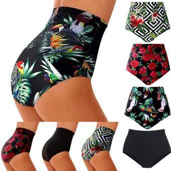 Bikini Braguitas De Bano De Cintura Alta Para Mujer Pantalones Cortos De Bano Con Parte Inferior De Ta Traje De Bano De Talle Alto Trajes De Bano Bikini Bikini