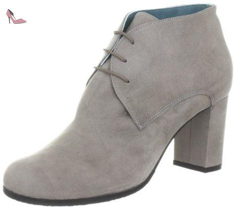 Paco Gil Aosta Chiara P2249ACV, Chaussures basses femme - Gris-TR-E4-39, 40 EU