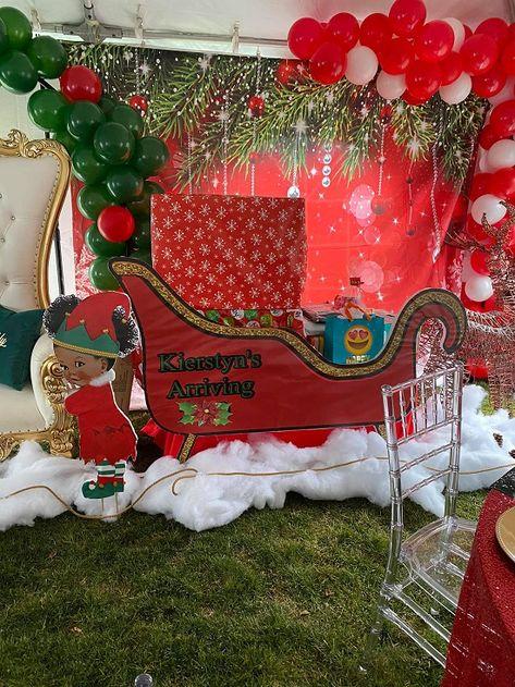 WickedFun® CHRISTMAS DELUXE DOOR BOW XMAS NEW YEAR BABY SHOWER PARTY DECORATION