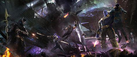 Avengers: Infinity War revela nuevas imágenes