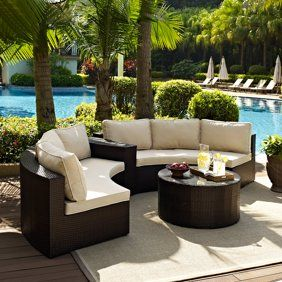 Patio Garden Outdoor Seating Set Outdoor Wicker Seating Patio Furniture Sets