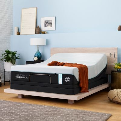 Tempur Probreeze Medium Hybrid Split California King Mattress