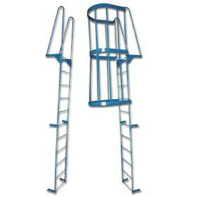 CHECK OUT this WALK THROUGH Access Ladder! It had HANDLES for easy access entering and exiting!