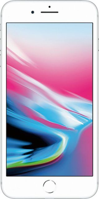 Apple Iphone 8 Plus 256gb Silver Verizon Mq8h2ll A Best Buy Buy Iphone Iphone 8 Iphone 8 Plus