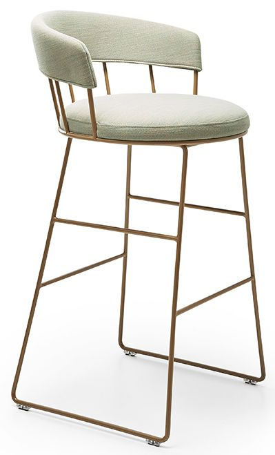 Meru Sled Base Barstool by Parla — Jarrett Furniture - Supplying to individual hospitality projects in the UK and abroad