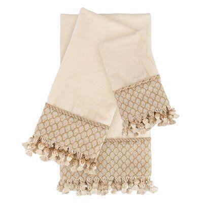 Austin Horn Classics Angelina Luxury 3 Piece 100 Cotton Towel Set