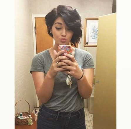 Short asymmetrical bob hairstyles -  #asymmetrical #hairstyles #short #hair #hairstyles #haircare #haircolor #hairgrowth
