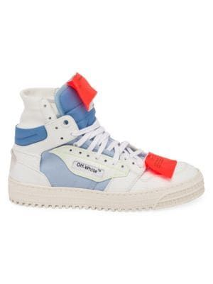 Off-Court High-Top Sneakers WHITE