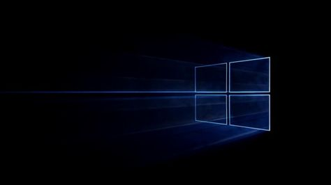 Windows 10 Logo Simple Black Background Hd 1920x1080 Papel De Parede Do Windows Papel De Parede Pc Papel De Parede Do Notebook