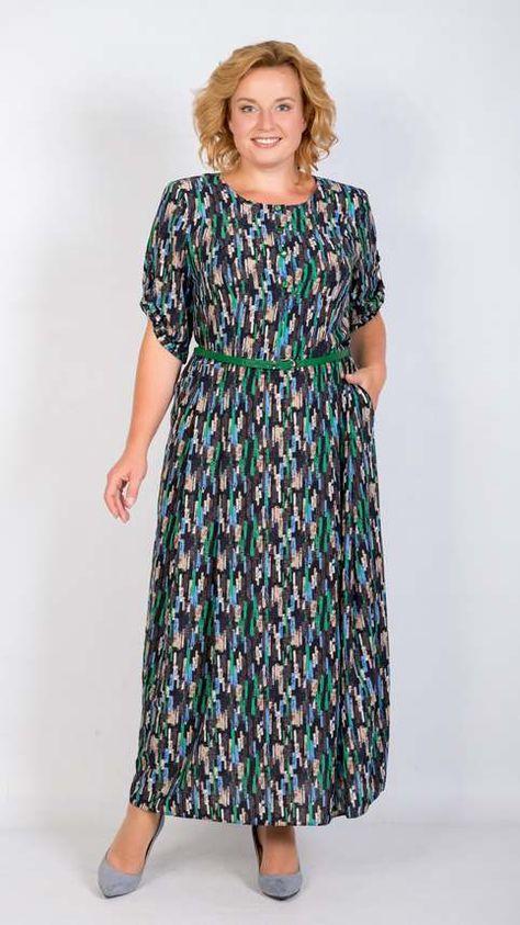 290acdd1106 Платья для полных женщин белорусской компании Трикотекс-стиль весна 2018