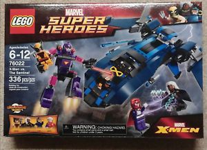 1 Lego Marvel Super Heroes Set 76022 X Men Vs The Sentinel New