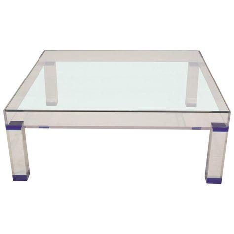 Yves Klein Coffee Tail Table