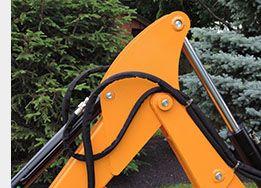 WoodMaxx WM-8600 9' Tractor Backhoe Attachment | Tractor