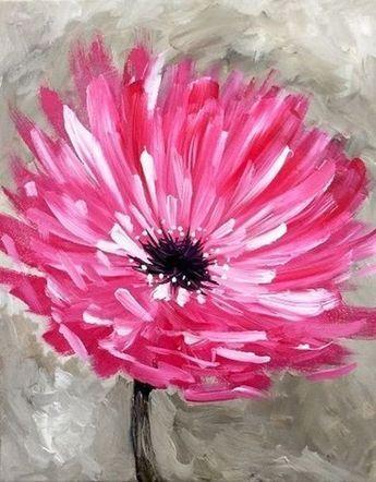 New Flowers Tulips Painting Ideas Flower Painting Canvas Painting Tulip Painting