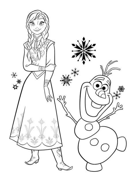 Las Princesas De Frozen Para Colorear Com Imagens Desenhos