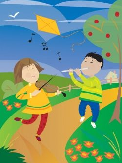 Music Improves Math and Spatial Skills