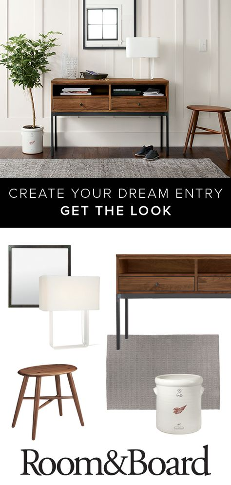 Set the tone of your home with an inviting and modern entryway. An entryway is a great spot to display your personal style and musings of the movement, along with functional and versatile storage pieces that make your every day easier.