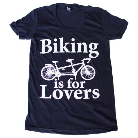 Bicycle Shirt Tee S M L XL 2XL biking workout exercise cycling trails fitness