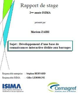 Rapport De Stage Et Fin Etudes Exemple De Rapport Rapport De Stage Bts Modele Cv Etudiant