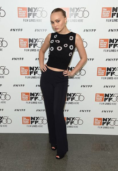 Lily-Rose Depp attends the 56th New York Film Festival - 'A Faithful Man' screening at Alice Tully Hall.
