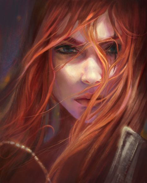 My Artwork- Fanart Katarina- League of Legends by PhuThieu1989